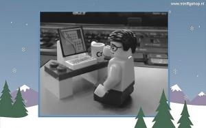 Christmas Lego Nerd